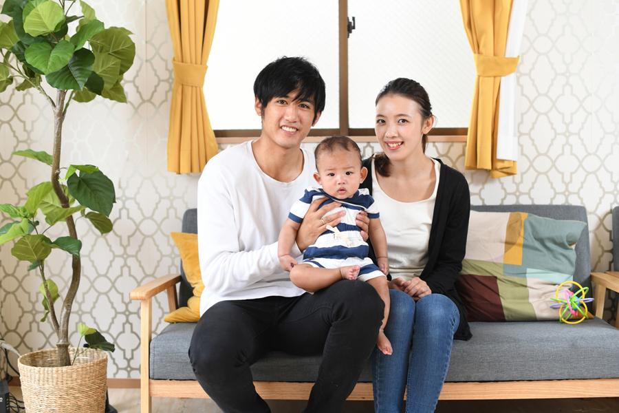 20代女性★家族構成ご夫婦子供1人